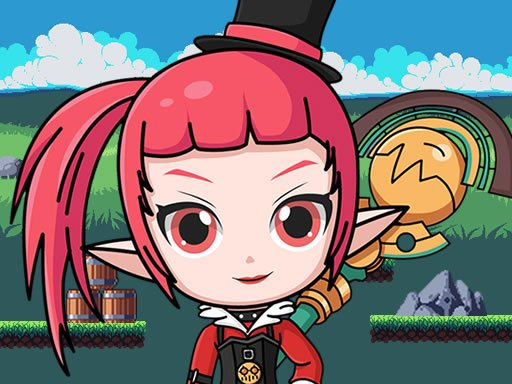 Play Mage Girl Adventure Game