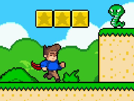 Play Super Steve World Game