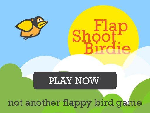 Play Flap Shoot Birdie Mobile Friendly Game