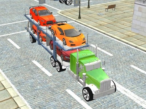 Play Car Transport Truck Game