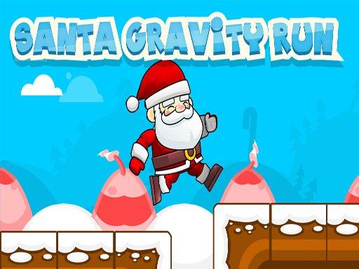 Play Santa Gravity Run Game