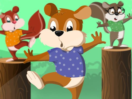 Play Squirrel Hop Game