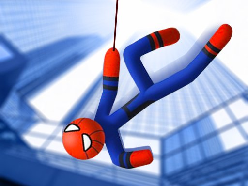 Play Stickman Swing Rope Hero Game