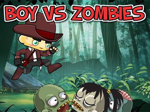 Play Boy vs Zombies Game