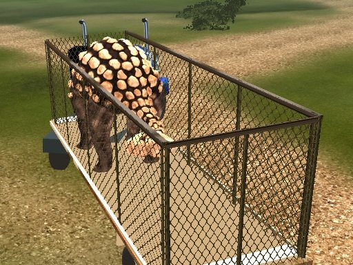 Play Dino Transport Simulator Game