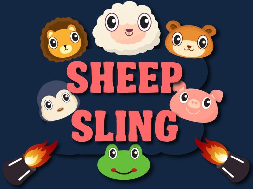 Play Sheep Sling Game