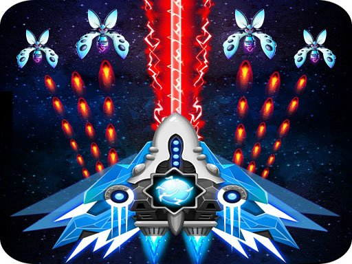Play 2D Space Shooter Game