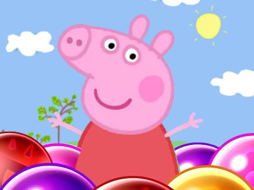 Play Peppa Pig Bubble Game