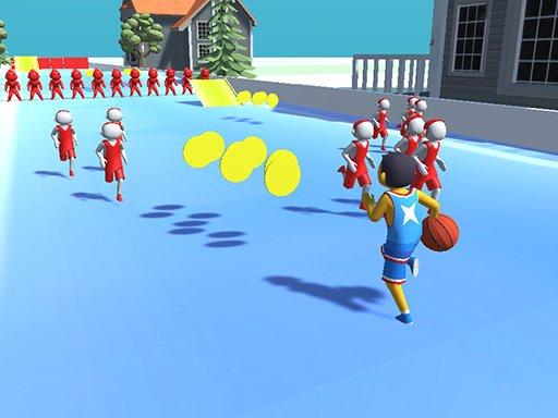 Play Basketball Runner Game