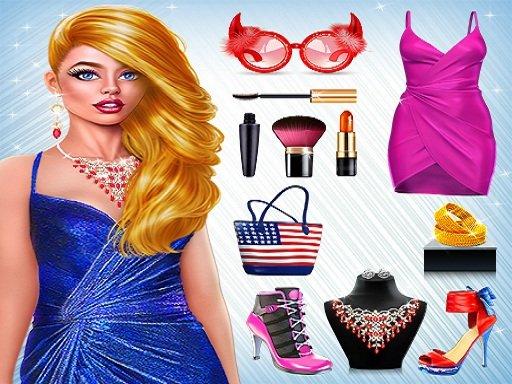 Play Dress Night: Stylist Girls Game
