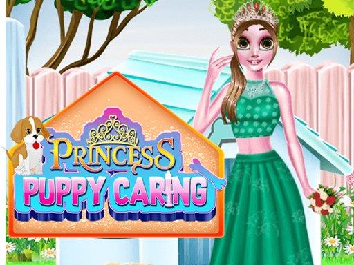Play Princess Puppy Caring Game