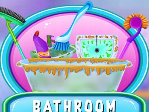 Play Bathroom Clean And Deco Game