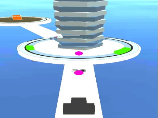 Play Shoot 3D Ball-Hit Twisty Stack Game