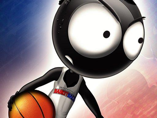 Play Stickman Basketball Game
