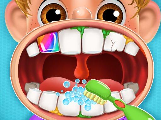 Play Kids Dentist: Doctor Simulator Game