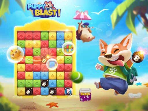 Play Puppy Blaster Game