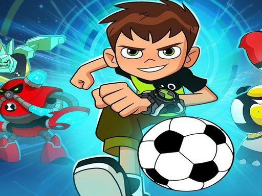 Play Ben 10 Soccer Penalties Game