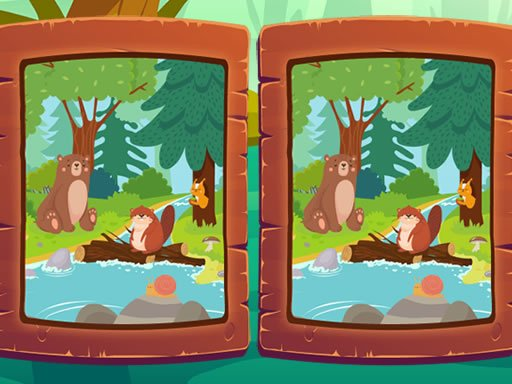 Play Spot the Difference – Animals Game
