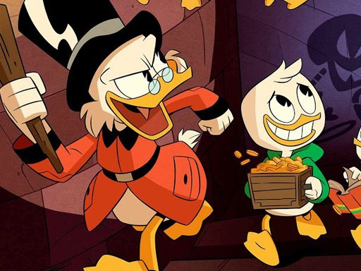 Play Duck Tales Jigsaw Puzzle Game