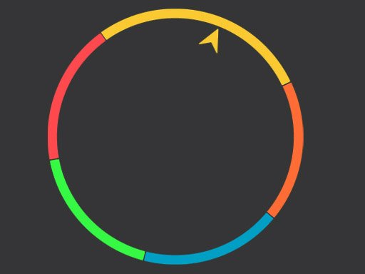 Play Infinite Color Wheel Game