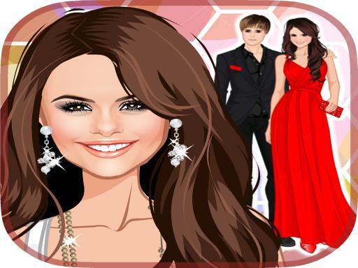 Play Selena Gomez Huge Dress Up Game
