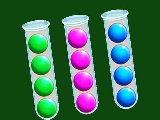 Play Sort Bubbles Puzzle Game