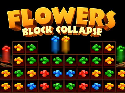 Play Flowers Blocks Collapse Game