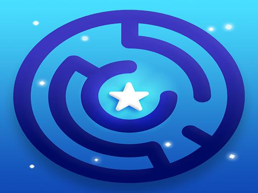 Play Mazy Maze ⭐ Labyrinth Puzzle: (Rotate the Maze!) Game