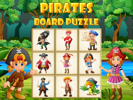 Play Pirates Board Puzzle Game