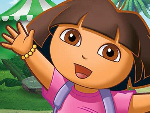 Play Dora the Explorer Jigsaw Puzzle Game