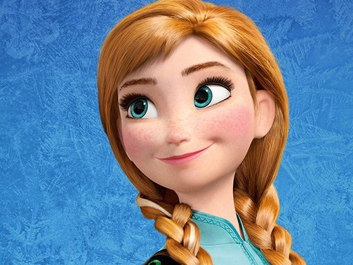 Play Anna Frozen Jigsaw Puzzle Game