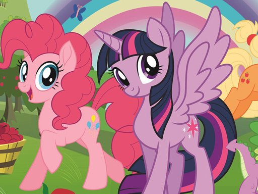 Play My Little Pony Jigsaw Puzzle Collection Game