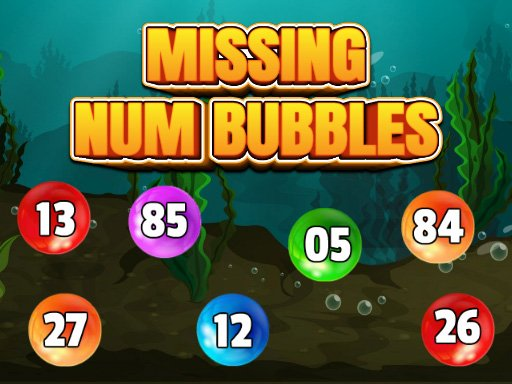 Play Missing Num Bubbles Game