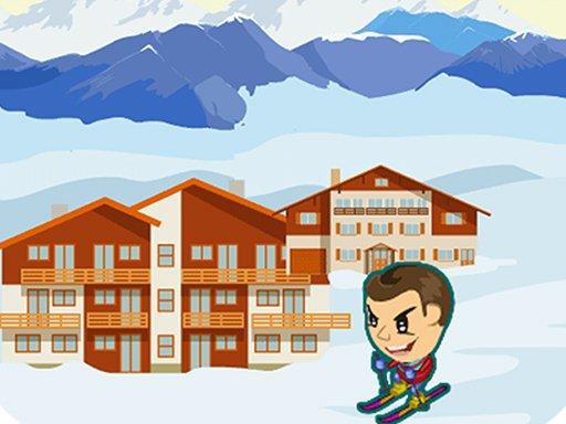 Play ZigZag Snow Ski Game