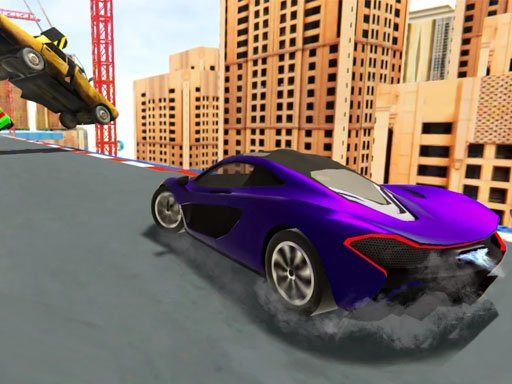Play Extreme Stunt Car Race Game