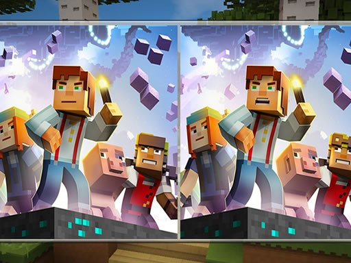 Play Minecraft Differences Game