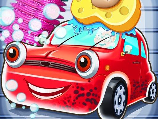 Play Kid Car Wash Garage Game