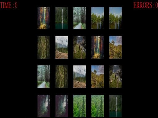 Play Forest Memory Game