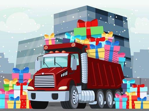 Play Snowy Trucks Hidden Game