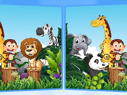 Play Find Seven Differences – Animals Game