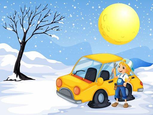 Play Snow Cars Jigsaw Game