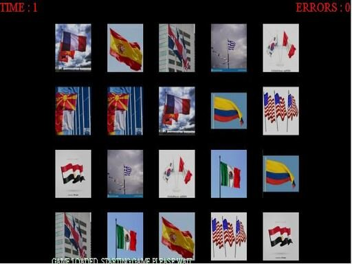 Play Memorize The Flags Game