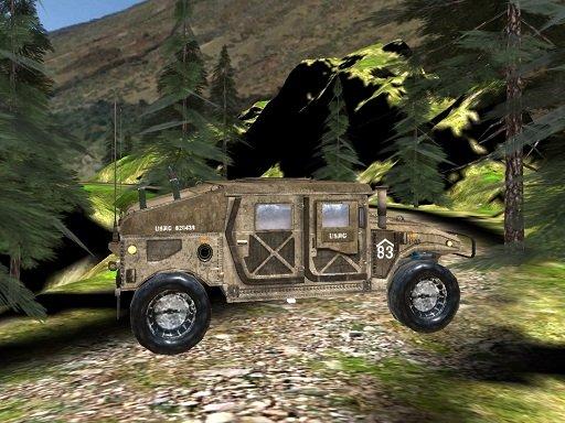 Play Humvee Offroad Sim Game