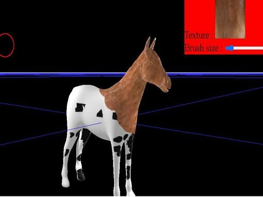 Play Horse Coloring Game