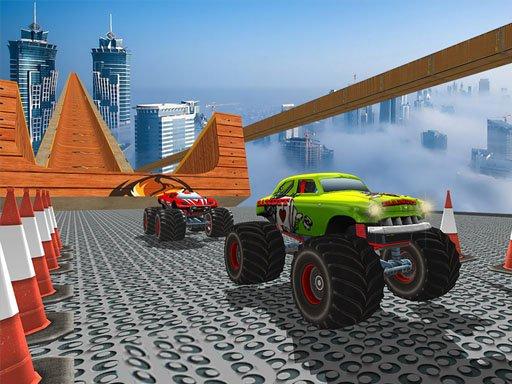 Play Monster Truck Ramp Game
