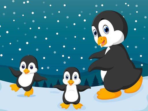 Play Winter Pinguins Memory Game