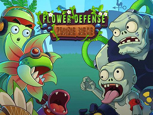 Play Flower Defense – Zombie Siege Game