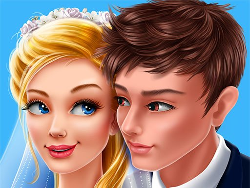 Play Wedding Salon Marry Me Dress Up Game