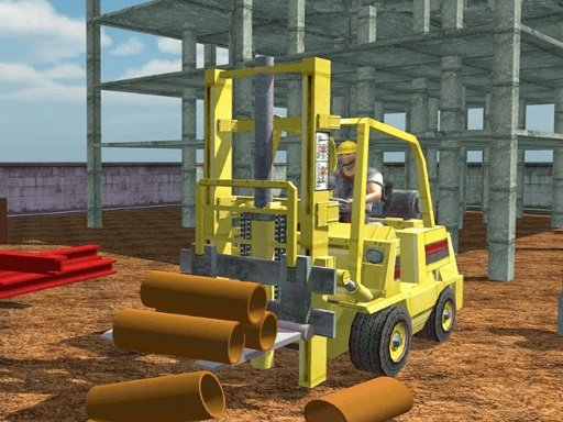 Play Forklift Drive Simulator Game