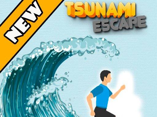 Play Tsunami Escape Game